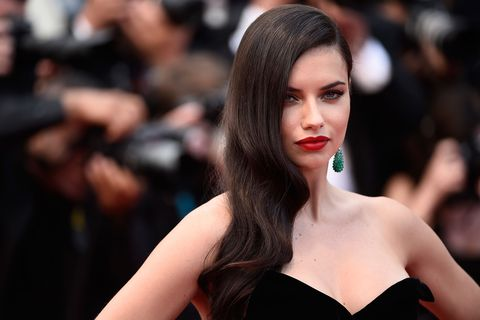 Adriana Lima's favourite beauty products